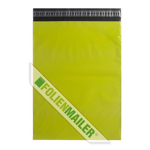 blickdicht 25 Folien Neon Grün DIE Polymailer Versandtaschen 25 x 35 cm