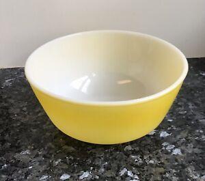 two tone gold FireKing Anchor hocking bowls retro look
