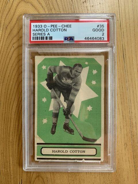 1933 O-PEE-CHEE Harold Cotton V304A #35 PSA 2 Good