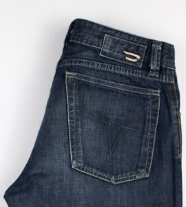 Diesel-Hommes-Levan-Jeans-Jambe-Droite-Taille-W31-L34-ALZ753