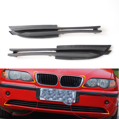 BMW E46 SERIES 3 01-05 NEW BUMPER GRILLE 4 DOOR LH PASSENGER SIDE