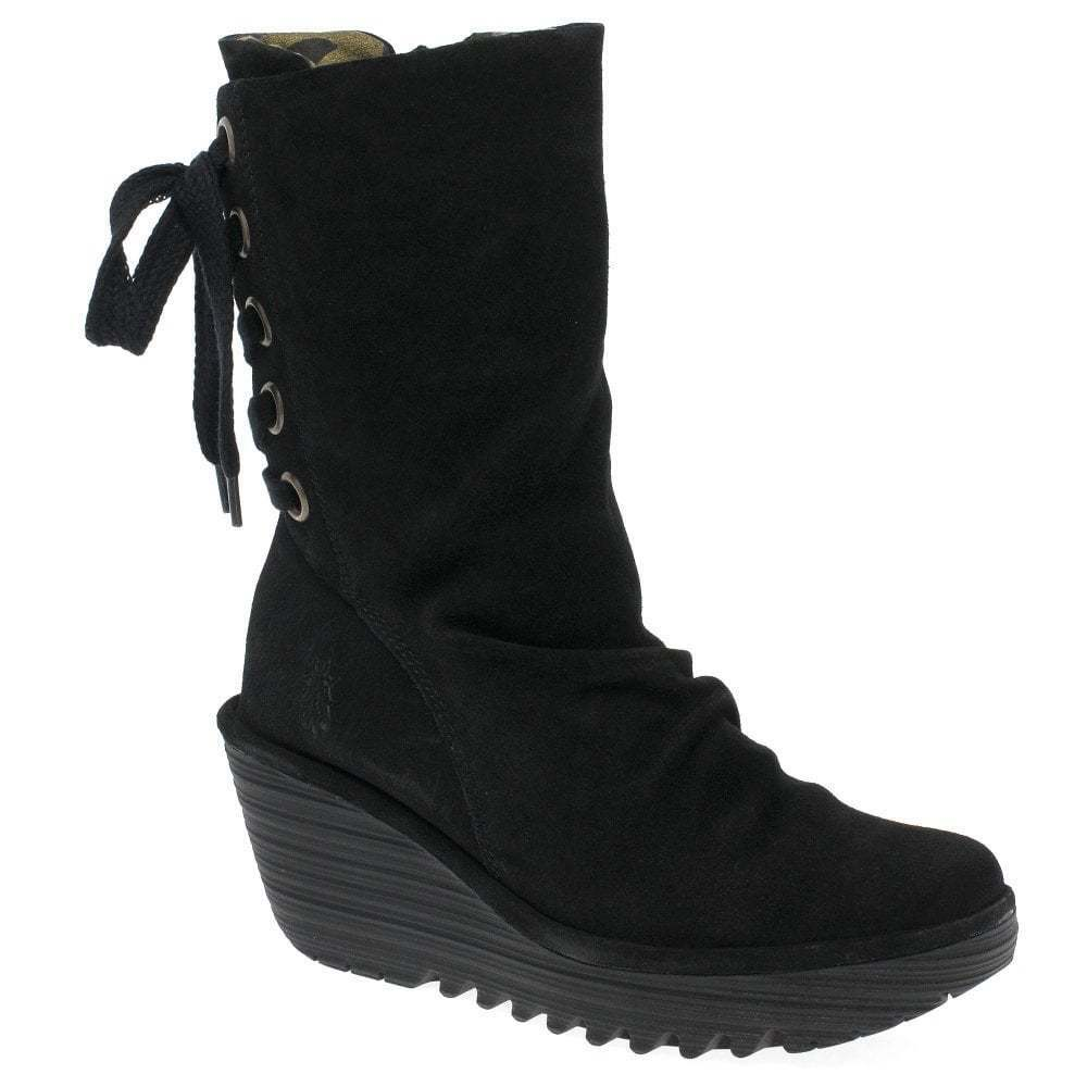 Fly London London London Yada Womens Calf Length Boots 04e652