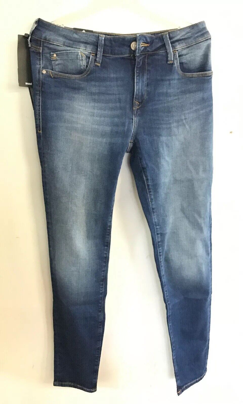 CL16  Mavi damen Adeiana Mid Rise Super Skinny W30 x  L30