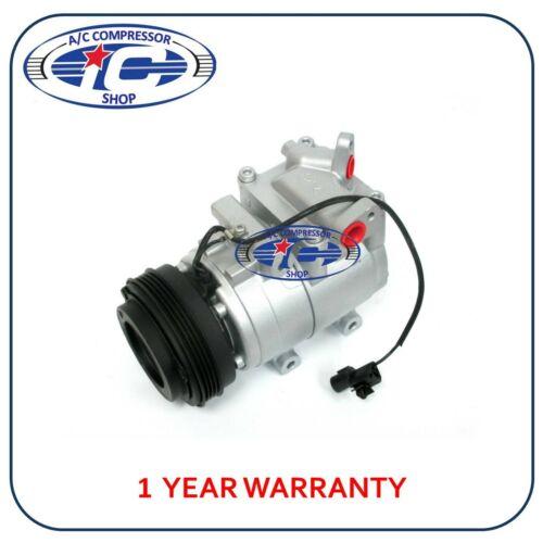 57186 HS15 A//C Compressor Fits Kia Spectra 02-04 L4 1.8L  Sephia 00-01 L4 1.8L