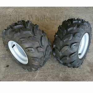 4 Hole 20x950 8 20950 8 Riding Lawn Mower Garden Tractor Tires