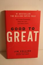 Good to Great : Why Some Companies Make the Leap... and Others Don't by Jim Collins (2001, Hardcover)