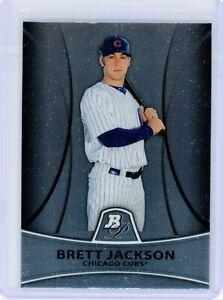 2010 Bowman Platinum Prospects #PP16 BRETT JACKSON RC Rookie (Cubs) NM
