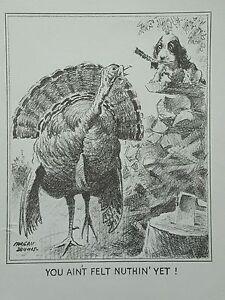 VINTAGE-Cocker-Spaniel-Dog-Print-Morgan-Dennis-YOU-AIN-039-T-FELT-NOTHING-YET-8-5x11