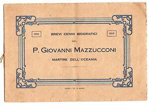 LECCO-RANCIO-PADRE-GIOVANNI-MAZZUCCONI-MARTIRE-DELL-039-OCEANIA-1929