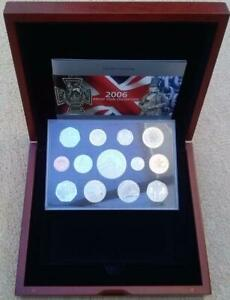 2006-Executive-Proof-Coin-Set-in-Wooden-Case-With-COA-13-2206