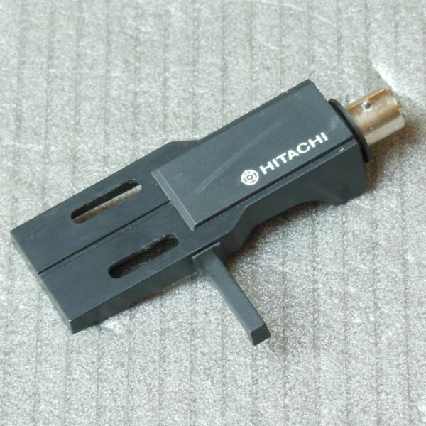 "Eerlijkheid Original Hitachi Headshell Mit Bajonett - Anschluss "" Sme "" / Halter Tonabnehmer"