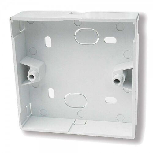 PACK OF 10-1 GANG SURFACE MOUNTING PATTRESS BACK BOX