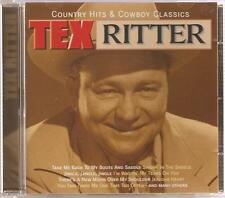 TEX RITTER COUNTRY HITS & COWBOY CLASSICS CD - LONG TIME GONE & MORE