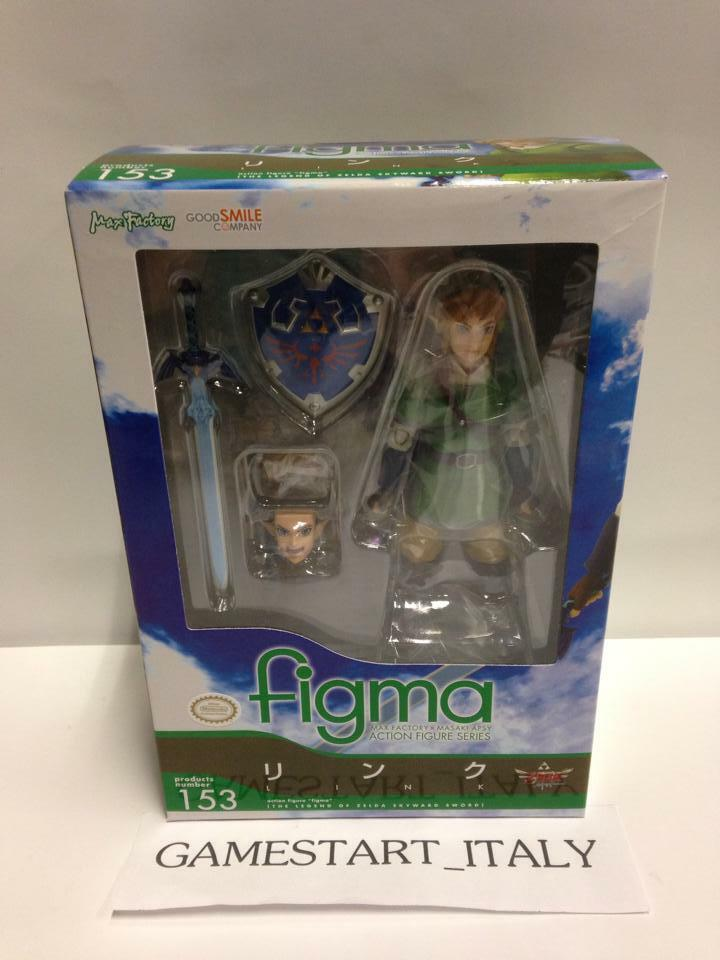 THE LEGEND OF ZELDA SKYWARD SWORD ACTION ACTION ACTION FIGURE LINK 14 CM FIGMA NEW b22697