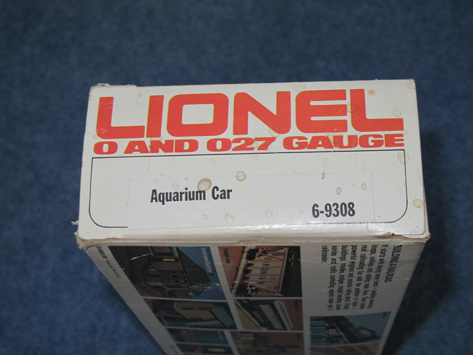 1981 Lionel 6-9308 6-9308 6-9308 Traveling Aquarium Car L1243 210fe2