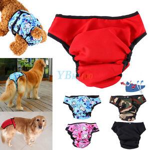 Algodon-Mascota-Perro-Pantalones-Cortos-Panales-Braguita-Higienica-Braga-Comodo