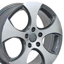 "17"" Wheels For Beetle EOS Golf GTI Jetta Passat Tiguan Rabbit 5x112 Rims Set 4"