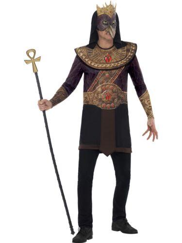 L HORUS DEL CIELO LINEA UOMO COSTUME Stile Egiziano Vestito M
