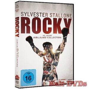 Rocky-1-2-3-4-5-6-The-Complete-Saga-6-DVD-Box-Sylvester-Stallone-Neu-OVP
