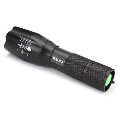 1TAC TC1100 Flashlight TacLight Military TAC1 Tactical Torch Waterproof Design