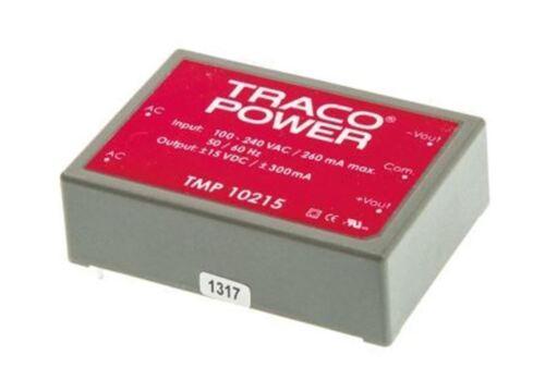 300mA Salida Dual 10W TRACOPOWER modo de conmutador integrado Smps Fuente de alimentación â ± 15V