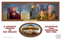 The Howling Man Art Print Poster Rod Serling Twilight Zone Tribute