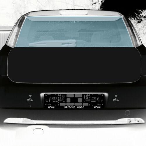 Rose 10cm silber Auto Tür Fenster Möbel Dekofolie Depeche Mode Aufkleber Tattoo