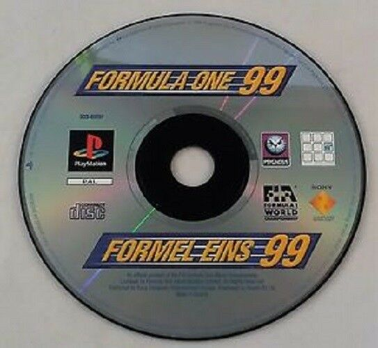 Formula 1 99 (Sony PlayStation 1, 1999) - PS1 PS2 PAL GAME RACING RACE Racer K57