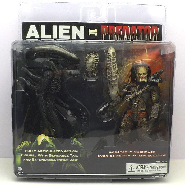 7inch Alien VS Predator Set theatrical version Mini 7  character Figure