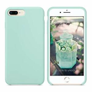 custodia iphone 8 silicone verde