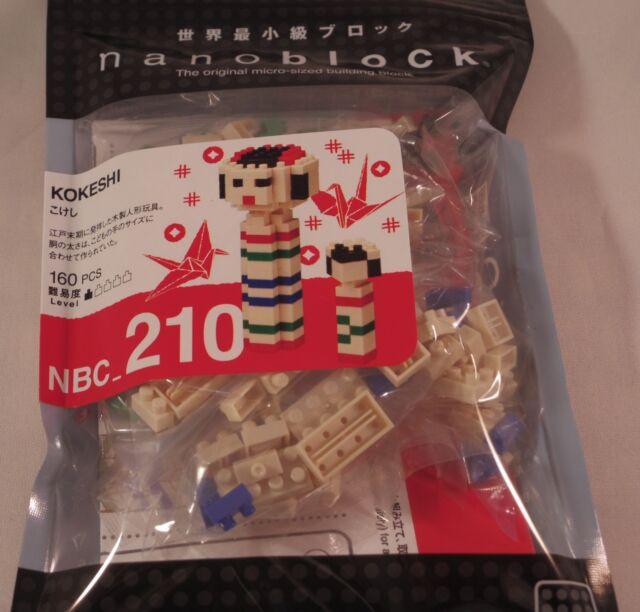 Kawada nanoblock Mini KOKESHI - japan building toy NEW NBC_210 Worldwide