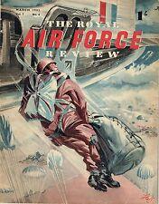 RAF REVIEW MAR 52:PARA TRAINING/ RAF T&Cs/ LORD TEDDER/ ZAMBESI's WO BROWN