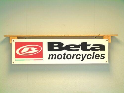 Beta Motorcycles Banner Trials Workshop Garage off road Trackside pvc sign