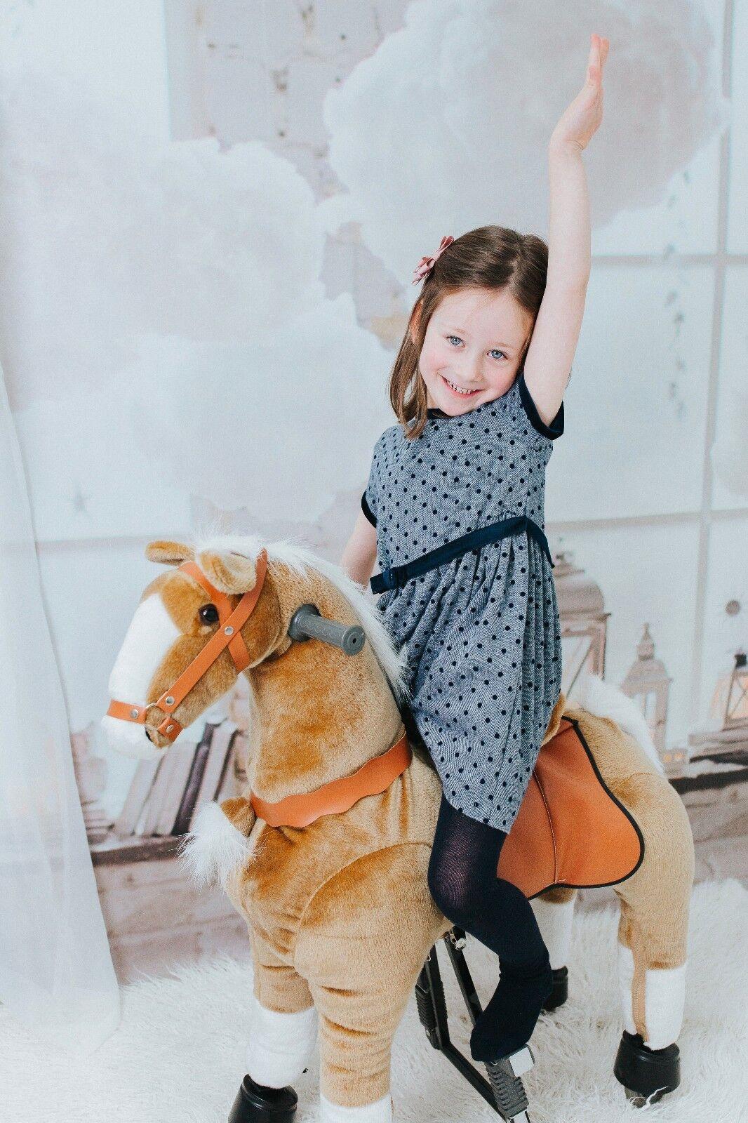 Galoppo® - Spielzeug-Pferd zum Reiten für Kinder in braun