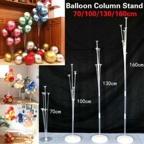 Balloon Column Stand Kit Kid Balloon Holder Display Base Tube Sets Wedding Decor