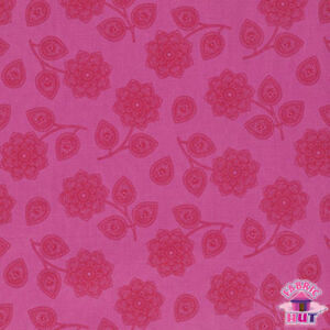 Henna Tula Yard Cotton Pink The Free Pwtp074 By Eden Cerise Fabric bfy76g