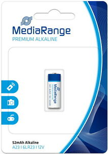 2 Mediarange Security LR23 MN21 LRV08 VA23GA MS21 VR23 1811A Batterien Blister