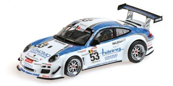 Porsche 911 gt3r Vannelet Peyroles Haebague Class  Winners 24 H Spa 2010 1 43 Model  en soldes