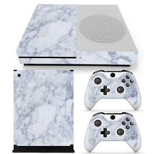 XBOX ONE S Skin Design Foils Aufkleber Schutzfolie Set - Marble Motiv
