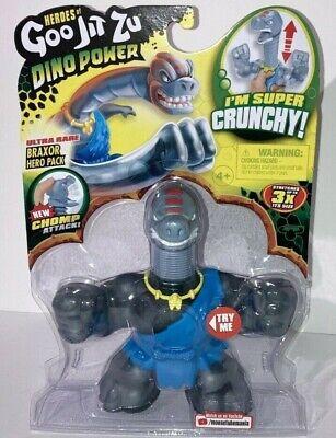Goo Jit Zu Ultra Rare Braxor Action Figure Super Crunchy with Chomp Attack