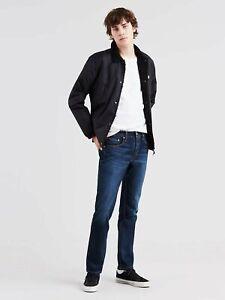 Levi's Men's 511 Slim Fit Jeans Size 34 x 32 NWT Medium Blue Wash Stretch Denim