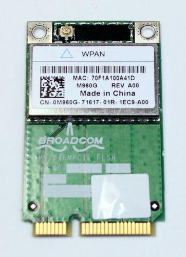 Dell Latitude E5400 E5500 Genuine WPAN Wireless Bluetooth 0M960G M960G Card