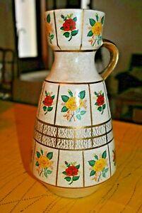 Ancien Vase Pichet En FaÏence Allemande Annees 50-60 - Germany