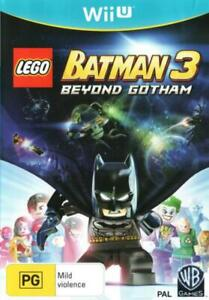 LEGO Batman 3 Beyond Gotham Wii U WiiU Game NEW