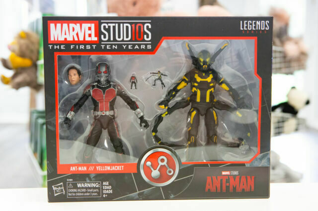 Marvel Studios Legends First Ten Years Ant-Man Yellow Jacket Figure 2 Pack NEW