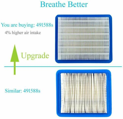 10 Pack 491588S Air Filter For Briggs Stratton 491588 399959 Honda 17211-Zl8-023