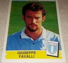 FIGURINA CALCIATORI PANINI 1994/95 LAZIO FAVALLI ALBUM 1995