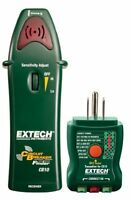 Extech Cb10 Circuit Breaker Finder Locates Fuses/breakers, Tests Receptacles And