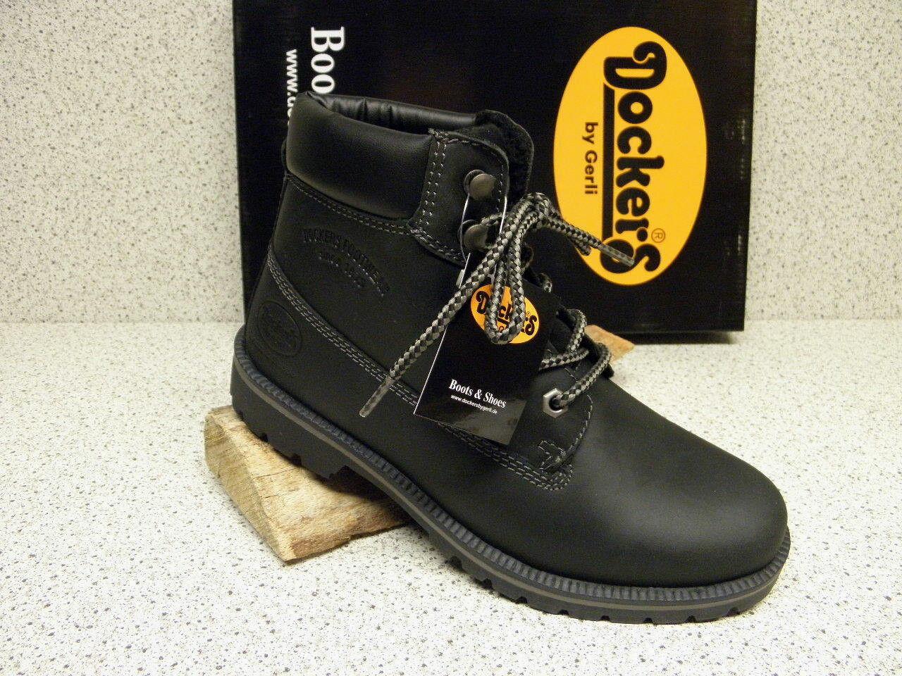 Dockers ®  ROTuziert,  bisher    schwarz + gratis Premium - Socken (D302)