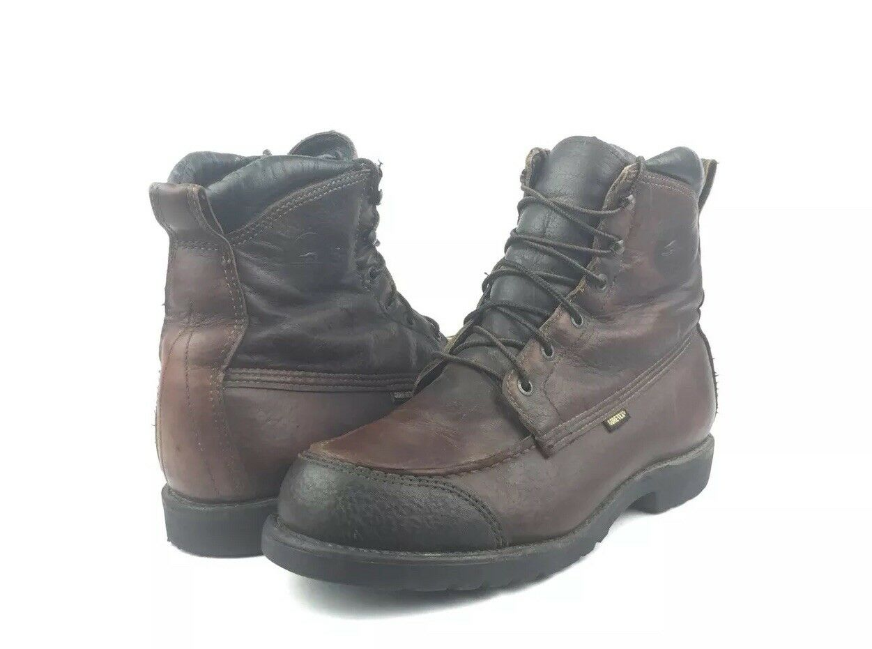 Rara ROJO Wing Irish Setter Sport Negro Cuero Canguro Tobillo botas